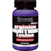 Ultimate Nutrition Arginine Ornithine Lysine 750 MG 99 Kapsül