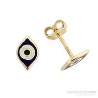 Altınsepeti Altın Minik Göz Küpe As109kp