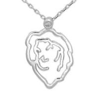Ariş Pırlanta Pırlanta Aslan Burcu Gümüş Kolye