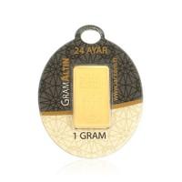 IAR 24 Ayar Külçe Gram Altın 1 Gr.