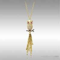 Sheamor Baykuş Altın Kolye