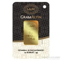IAR 24 Ayar Gram Altın Külçe Altın 5 Gr.