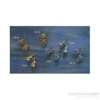 Enstrümanlı Gümüş - Altın Kaplama Kol Düğmesi Çeşitleri