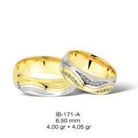 Diva 14 Ayar Altın Alyans (Çift)
