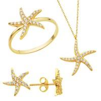 Bella Gloria Deniz Yıldızı Altın Takım (Pt78310)