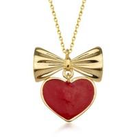 Goldstore 14 Ayar Altın Kalp Kolye Gp39057
