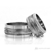 Berk Kuyumculuk Gümüş Alyans 5522 (Çift Fiyatı)