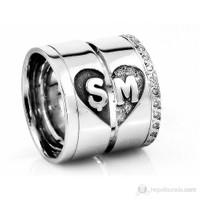 Berk Kuyumculuk Gümüş Alyans 5540 (Çift Fiyatı)