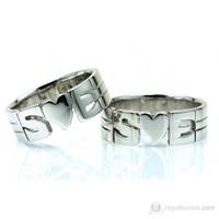 Berk Kuyumculuk Gümüş Alyans 5547 (Çift Fiyatı)