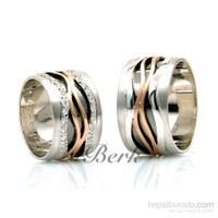 Berk Kuyumculuk Gümüş Alyans 5585 (Çift Fiyatı)