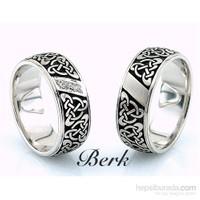 Berk Kuyumculuk Gümüş Alyans 5596 (Çift Fiyatı)