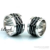Berk Kuyumculuk Gümüş Alyans 5597 (Çift Fiyatı)