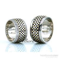 Berk Kuyumculuk Gümüş Alyans 5599 (Çift Fiyatı)