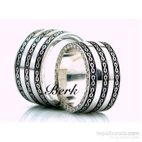Berk Kuyumculuk Gümüş Alyans 5602 (Çift Fiyatı)