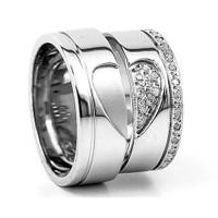 Berk Kuyumculuk Gümüş Alyans 5777