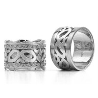 Berk Kuyumculuk Gümüş Alyans 5801(çift)
