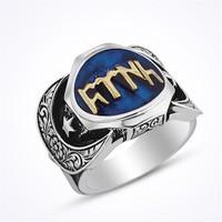 Mina Silver Göktürk Dilinde Türk Yazılı Taşsız Gümüş Yüzük
