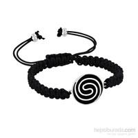 Argentum Concept Ac Mühür Koleksiyonu: Çatalhöyük Spiral Motifli Gümüş Unisex Bileklik