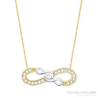 Melis Gold Altın Sonsuzluk Kolye Kly00838