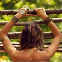 Solesummer Metalik Tattoo-Dövme Takı 14x21 cm