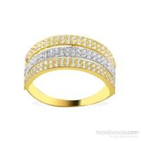 Melis Gold Altın Taşlı Yüzük Ay0000141