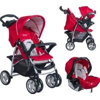 Graco Ultima Seyahat Sistem Bebek Arabası / Chili Red