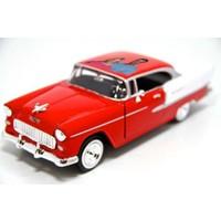 Motormax Kişiye Özel Lisanslı 1 1:24 1955 Chevy Bel Air Model Araba Kırmızı