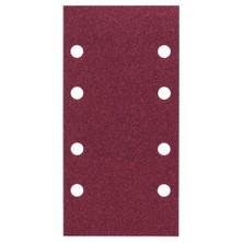 Bosch - Titreşimli Zımpara Kağıdı 10'Lu, 93 X 185 Mm 120 Kum 8 Delik