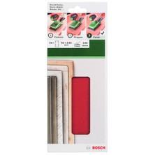 Bosch - Titreşimli Zımpara Kağıdı 10'Lu, 93 X 230 Mm 240 Kum 8 Delik