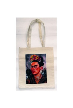 Köstebek Frida Kahlo - Self Portrait Bez Çanta