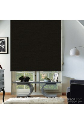 Taç Polyester Işık Geçirmez Blackout Karartma Stor Perde Siyah 100X200 Siyah