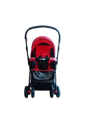 Comfymax Çift Yönlü Bebek Arabası - Kırmızı