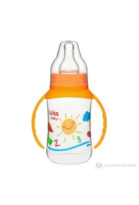 Wee Baby Baby Silikon Kiraz Uçlu Kulplu PP Biberon / 150cc