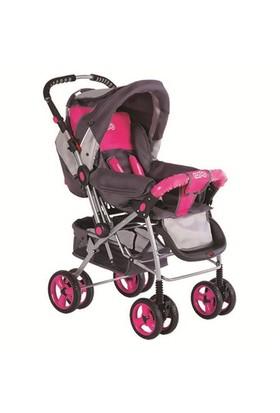 Rosso 3040 Lüx Çift Yönlü Bebek Arabası Puset