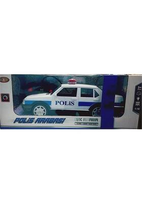 Kumandalı Şarjlı Polis Arabası 1:16