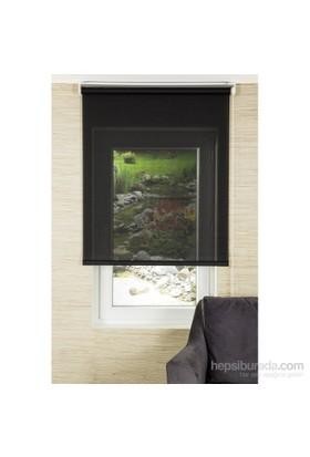 Comforsun Siyah Transparan Screen Stor Perde 100x200
