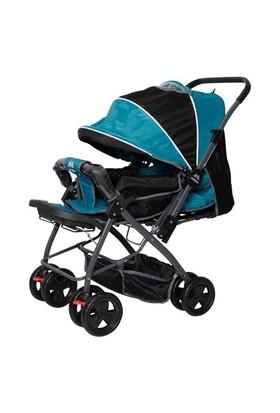 Aldeba 8028B Çift Yönlü Bebek Arabası - Yeşil
