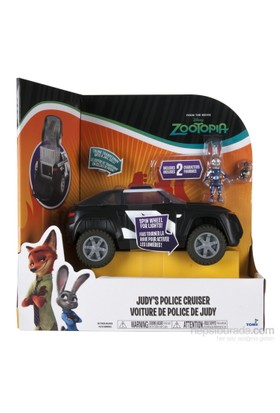 Polis Departmanı 3Lü Figür Set Polis Üniformasındaki Judy