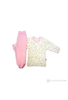 Sema Bebe Pijama Takımı / Pembe