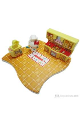 Hello Kitty Evim Güzel Evim Mutfak