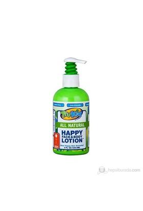 Trukid Happy Face-Body Lotion-Bebek ve Çocuklar İçin Tamamen Doğal Yüz ve Vücut Losyonu 236 ml