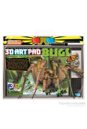 4M 3D Poster-Boyama Böcekler
