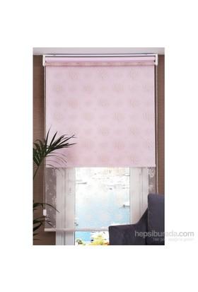 Comforsun Pudra Pink Daisy İkili Perde 60x200