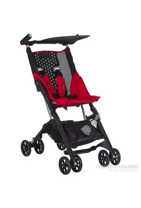 Soo Baby Pockit Baston Bebek Arabası - Red