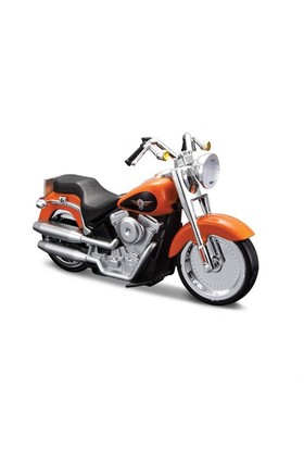 Maisto Tech Harley Davidson 2004 Flstfi Fat Boy Free Rolling Sesli Motorsiklet