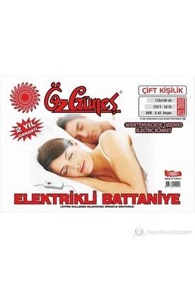 Özgüneş Çift Kişilik Elektrikli Battaniye