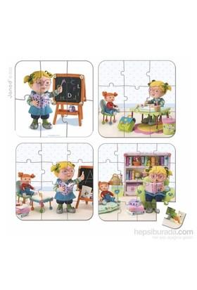 Janod Puzzles - Lısa Plays Teacher
