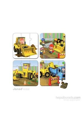 Janod Puzzles - Axel's Excavator