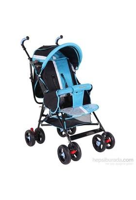 Baby Hope Sa7 Baston Bebek Arabası Mavi