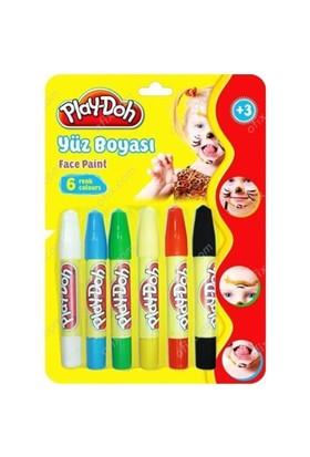 Play-Doh 6 Renk Yüz Boyası